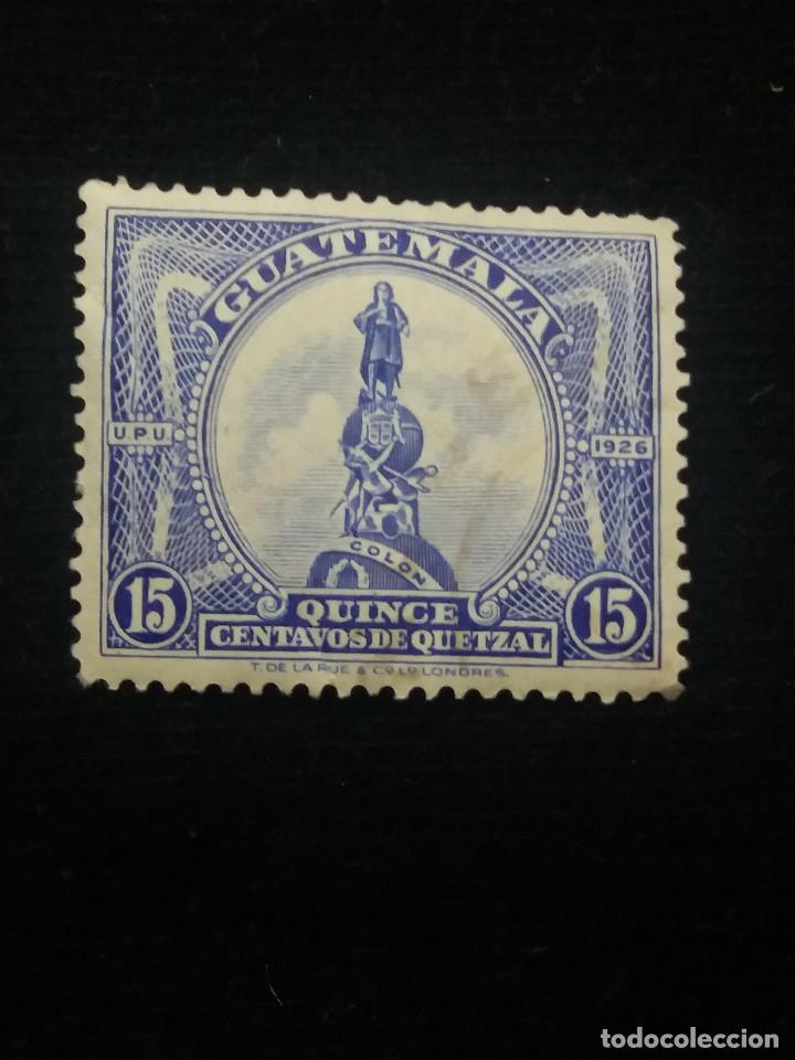 GUATEMALA, 15 CENTAVOS, DE QUETZAL.1940. SIN USAR (Sellos - Extranjero - América - Guatemala)