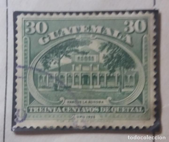 GUATEMALA, 30 CENTAVOS, DE QUETZAL,1926. (Sellos - Extranjero - América - Guatemala)