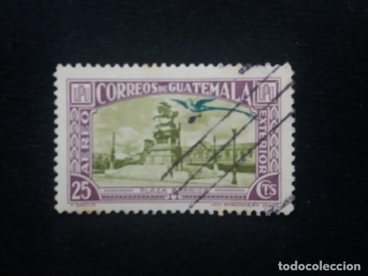 GUATEMALA, 25 CENTAVOS, AEREO EXTERIOR, 1960. (Sellos - Extranjero - América - Guatemala)