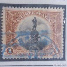 Sellos: GUATEMALA, 1 PESO, U.P.U. COLON, 1826. SIN USAR . Lote 180414011