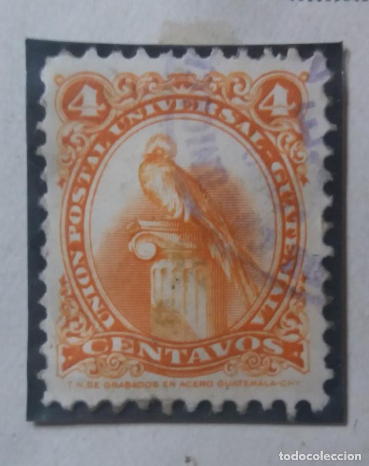 GUATEMALA, 4 CENTAVO, GUACAMAYO, 1860. SIN USAR (Sellos - Extranjero - América - Guatemala)