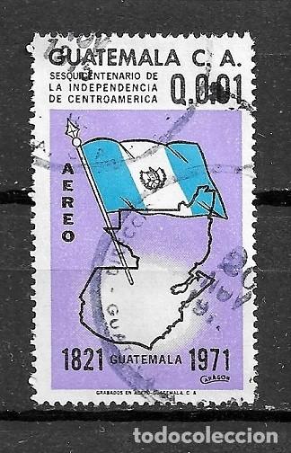 GUATEMALA,1971,150 ANIVERSARIO DE LA INDEPENDENCIA,YVERT 470,USADOS (Sellos - Extranjero - América - Guatemala)