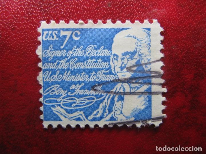 -ESTADOS UNIDOS 1972, BENJAMIN FRANKLIN, YVERT 970 (Sellos - Extranjero - América - Guatemala)