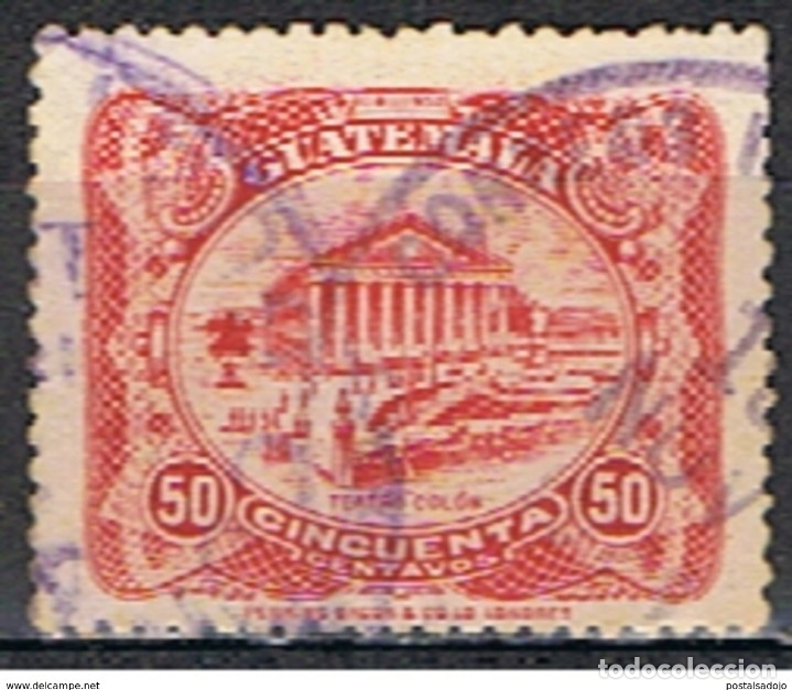 SELLO GUATEMALA // YVERT 208 // 1924 (Sellos - Extranjero - América - Guatemala)