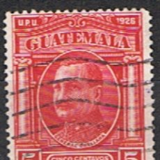 Sellos: SELLO GUATEMALA // YVERT 236 // 1929. Lote 182882931