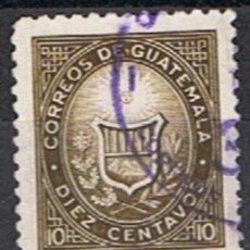 Sellos: GUATEMALA // YVERT 400 A // 1963-67. Lote 183578332