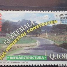 Selos: GUATEMALA_SELLO USADO_INFRAESTRUCTURA IMPUESTOS_MI-GT 1365 AÑO 1997 LOTE 4732. Lote 193665898