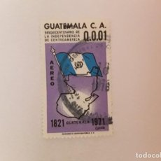 Sellos: GUATEMALA SELLO USADO. Lote 197803892
