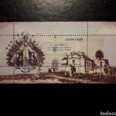 Sellos: GUATEMALA AÑO 2013. 1 VALOR. SERIE COMPLETA NUEVA ***. ERMITA DEL CERRITO DE LA VIRGEN DEL CARMEN. Lote 207044488
