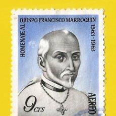 Francobolli: GUATEMALA. 1965. OBISPO FRANCISCO MARROQUIN. Lote 208166877