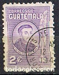 GUATEMALA Nº 500, GUATEMALA Nº 581, ARZOBISPO PAYO ENRÍQUEZ DE RIVERA, NACIDO EN AVILA EN EL DIGLO X (Sellos - Extranjero - América - Guatemala)