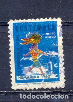 GUATEMALA, USADOS PRIMAVERA 1960 (Sellos - Extranjero - América - Guatemala)
