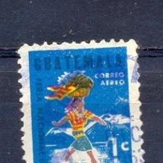 Sellos: GUATEMALA, USADOS PRIMAVERA 1960. Lote 219607577