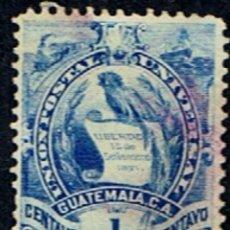 Sellos: GUATEMALA // YVERT 44 // 1889-95 ... USADO. Lote 238078710