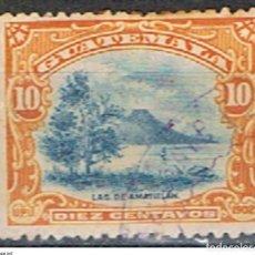 Sellos: GUATEMALA // YVERT 124 // 1902 ... USADO. Lote 238078940