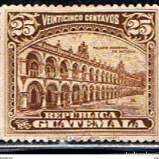 Sellos: GUATEMALA // YVERT 200 // 1922-23 ... USADO. Lote 238079395