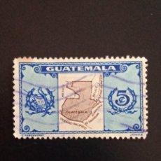 Sellos: GUATEMALA 5 CENTAVOS AÑO 1948. USADO.. Lote 245456600