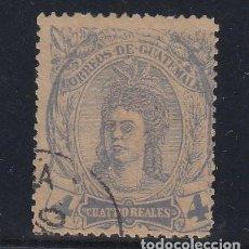 Sellos: GUATEMALA .13 USADA,. Lote 254922835