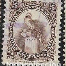 Sellos: GUATEMALA YVERT 366E. Lote 264240828