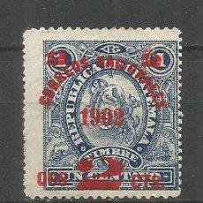 Sellos: GUATEMALA YVERT NUM. 118 USADO. Lote 267114114