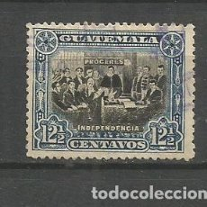 Sellos: GUATEMALA YVERT NUM. 137 USADO. Lote 267114794