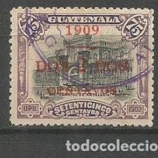 Timbres: GUATEMALA YVERT NUM. 141 USADO. Lote 267114904