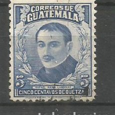 Sellos: GUATEMALA YVERT NUM. 319 USADO. Lote 267117109