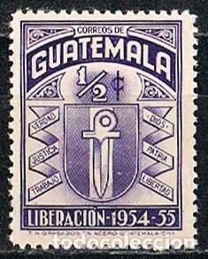 GUATEMANA 640, REVOLUCIÓN DE 19541955, NUEVO *** (Sellos - Extranjero - América - Guatemala)