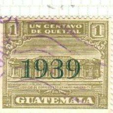 Timbres: AMÉRICA. GUATEMALA. FONDOS PARA RECONSTRUCCIÓN HOTEL LOS POSTES. YT 227, 298 Y 304. USADOS. Lote 273396358