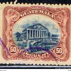 Sellos: GUATEMALA // YVERT 126 // 1902 ... USADO. Lote 281928303