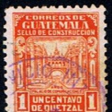 Sellos: GUATEMALA // YVERT 323 // 1945-1929 ... USADO. Lote 281928428