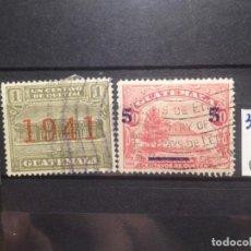 Sellos: SELLOS DE GUATEMALA. USADOS. YVERT Nº 307/9. Lote 285626748