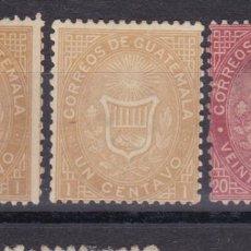 Sellos: BB5- GUATEMALA YT 1, 4 . (*). Lote 286910333