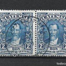 Sellos: GUATEMALA 1926 SELLO USADO - 15/44. Lote 288860353