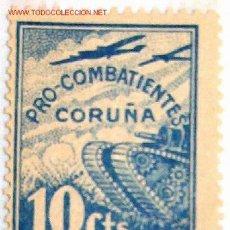 Sellos: VIÑETA PRO COMBATIENTES, CORUÑA.. Lote 6289082