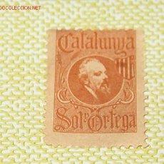 Sellos: VIÑETA CATALUNYA, SOL Y ORTEGA. Lote 2079729