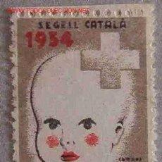 Sellos: SEGELL CATALÀ, 1934, PRO -INFANCIA. Lote 11339155