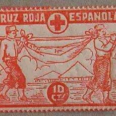 Sellos: VIÑETA CRUZ ROJA ESPAÑOLA. Lote 3819538