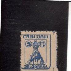 Sellos: SALOBREÑA. CARIDAD. Lote 3555091