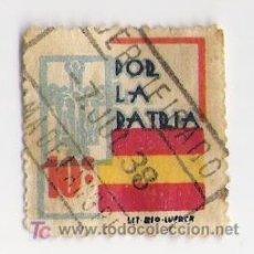 Sellos: POR LA PATRIA VALOR 10 CTS.. Lote 4558548