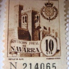 Sellos: SELLO DIPUTACIÓN FORAL DE NAVARRA, 10 CTS. Lote 4652066