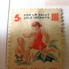 Sellos: SEGELL CATALÀ, 1935, PRO INFANCIA, 5 CTS. Lote 4652276
