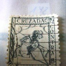 Sellos: SELLO CRUZADA CONTRA EL FRIO, 10 CTS. Lote 4672546