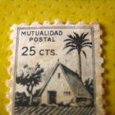 Sellos: SELLO MUTUALIDAD POSTAL, 25 CTS. Lote 20608575