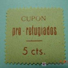 Sellos: 7839 GUERRA CIVIL PRO REFUGIADOS - MIRA MAS DE ESTE TIPO EN MI TIENDA COSAS&CURIOSAS. Lote 4715425