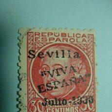 Sellos: 7842 SEVILLA GUERRA CIVIL PATRIOTICO 1936 - MIRA MAS DE ESTE TIPO EN MI TIENDA COSAS&CURIOSAS. Lote 4715433