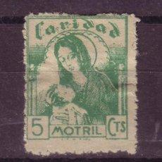 Sellos: MOTRIL GALVEZ 501 - AÑO 1937 - CARIDAD. Lote 5139539
