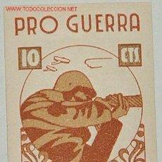 Sellos: PRO GUERRA, 10 CTS RODA. Lote 7027509