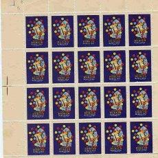 Sellos: VIÑETAS FESTAS DE LA MERCED BARCELONA SETEMBRE1958. Lote 1338417