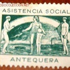 Sellos: CORREOS.ASISTENCIA SOCIAL.ANTEQUERA 5CTS. Lote 13427280
